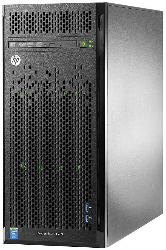 Сервер<br \> HPE (HP) ProLiant ML110 Gen9