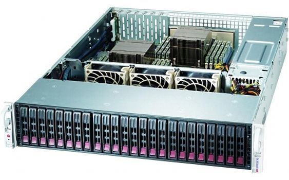 Сервер<br> SuperMicro SuperServer <br>SSG-2029P-ACR24L