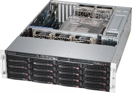 Сервер<br> SuperMicro SuperServer <br>SSG-6038R-E1CR16L