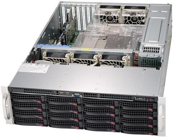 Сервер<br> SuperMicro SuperServer <br>SSG-6039P-E1CR16L