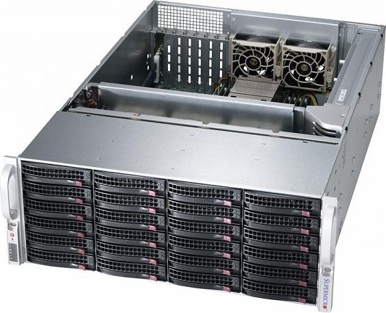 Сервер<br> SuperMicro SuperServer <br>SSG-6048R-E1CR24N