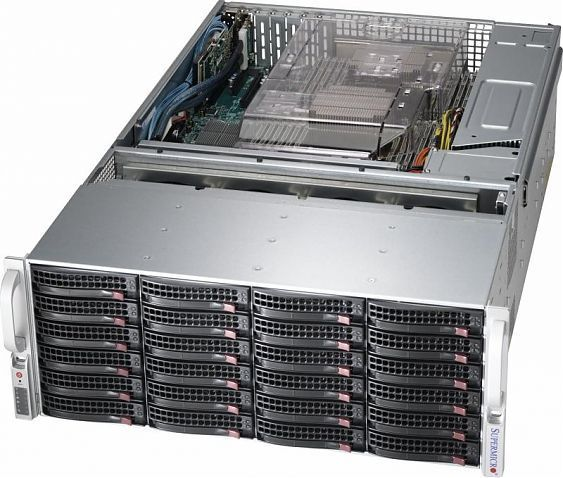 Сервер<br> SuperMicro SuperServer <br>SSG-6048R-E1CR36L