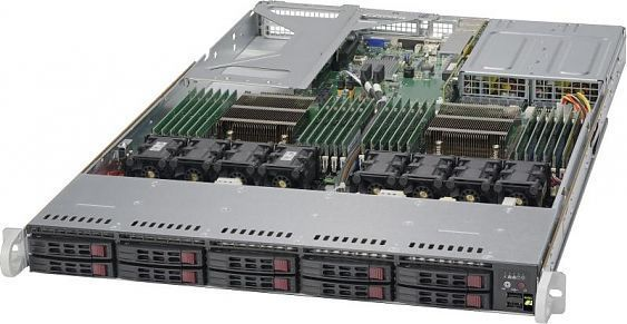 Сервер<br> SuperMicro SuperServer <br>SYS-1028U-TRT+