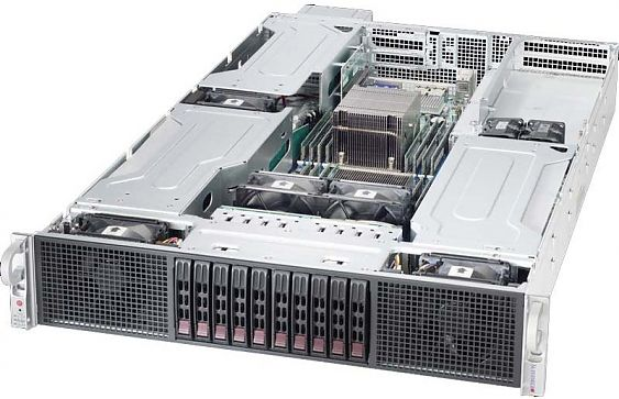 Сервер<br> SuperMicro SuperServer <br>SYS-5028R-WR