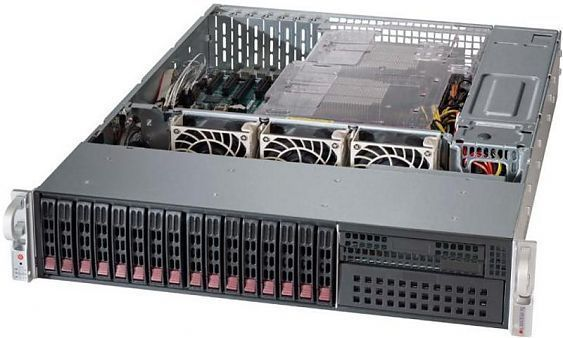 Сервер<br> SuperMicro SuperServer <br>SYS-2028R-C1RT4+