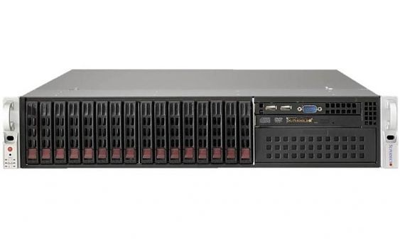 Сервер<br> SuperMicro SuperServer <br>SYS-2028R-C1RT