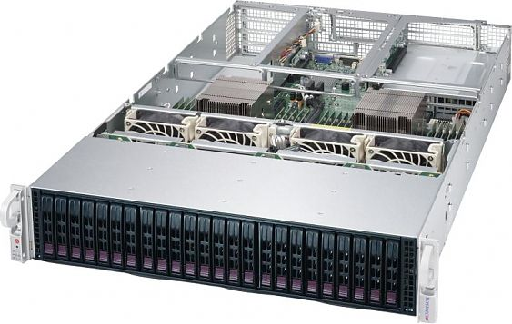 Сервер<br> SuperMicro SuperServer <br>SYS-2028U-TR4T+