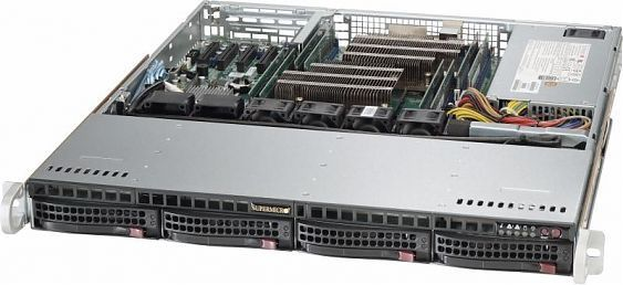 Сервер<br> SuperMicro SuperServer <br>SYS-6018R-MTR