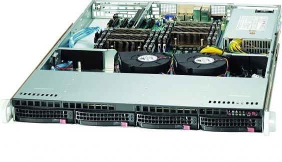 Сервер<br> SuperMicro SuperServer <br>SYS-6018R-TD