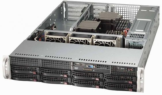 Сервер<br> SuperMicro SuperServer <br>SYS-6028R-WTR