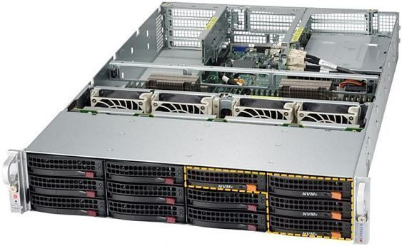 Сервер<br> SuperMicro SuperServer <br>SYS-6028U-TNR4T+