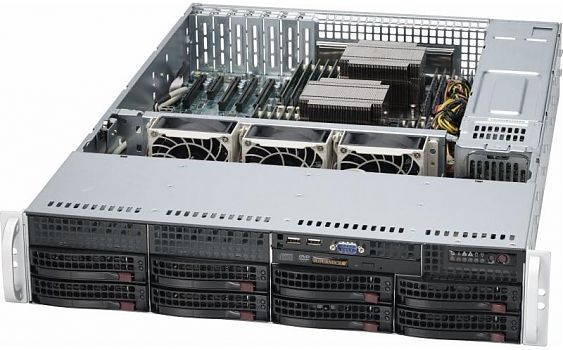 Сервер<br> SuperMicro SuperServer <br>SYS-6029P-TR