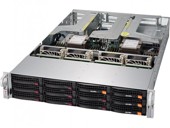 Сервер<br> SuperMicro SuperServer <br>SYS-6029U-E1CR25M