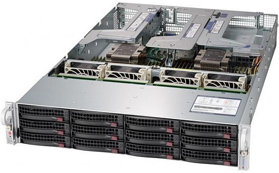 Сервер<br> SuperMicro SuperServer <br>SYS-6029U-TR25M