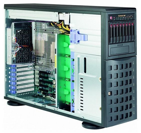 Сервер<br> SuperMicro SuperServer <br>SYS-7048R-C1RT4+