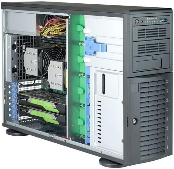 Сервер<br> SuperMicro SuperServer <br>SYS-7049A-T