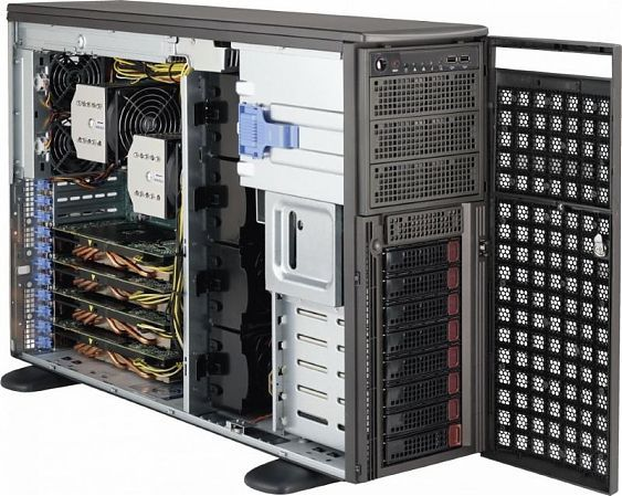 Сервер<br> SuperMicro SuperServer <br>SYS-7049GP-TRT