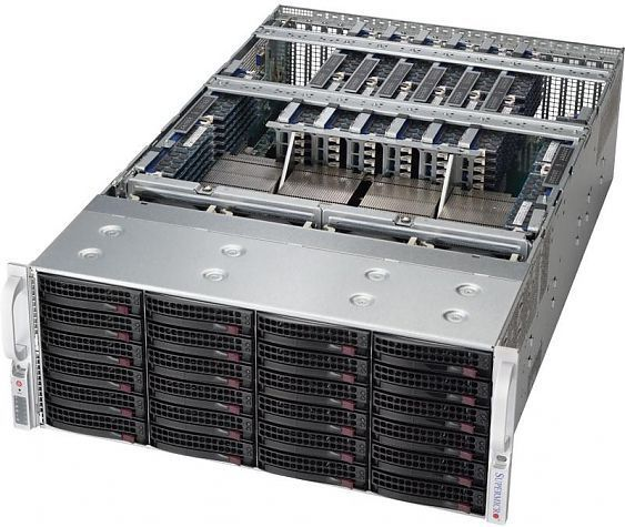 Сервер<br> SuperMicro SuperServer <br>SYS-8048B-TR4FT